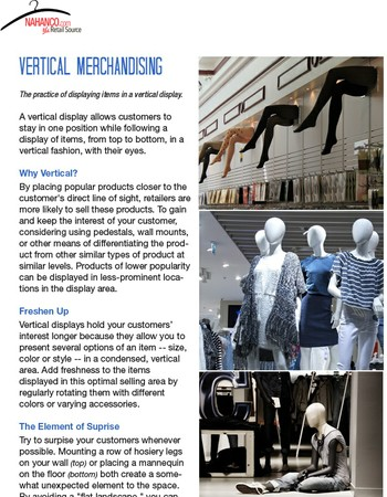 Are you Vertically Challenged in the Retail World?