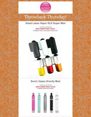 Throwback Thursday! Classic Mods for Your Collection at LOW Price