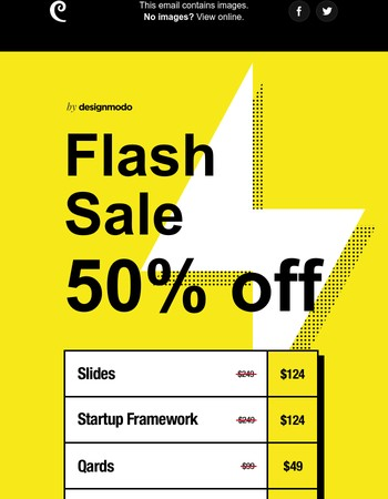 Summer Flash Sale on Designmodo! 50% Off!