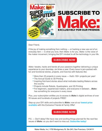 Wow! Claim Your Make: Pre-Summer Exclusive Now