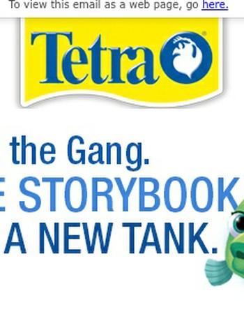 FREE Storybook In Specially Marked GloFish® Kits!