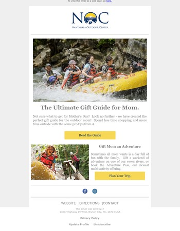 NOC's Mother's Day Gift Guide