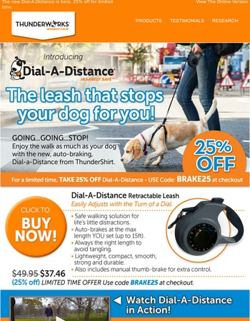 Your dog loves walks. Now you will too.