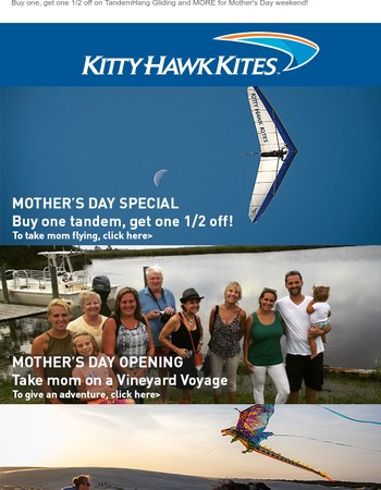 Give your Mom the gift of adventure!