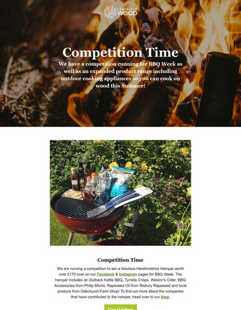 It's BBQ Week so we are running a competition...