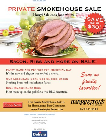 Private Smokehouse Sale Ends Soon