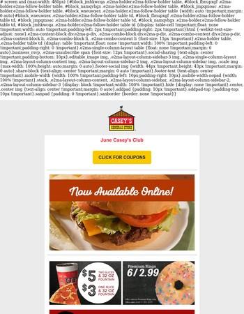 Ordering online just got tastier!