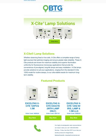 The X-Cite Power Measurement System measures optical power where it matters most — at the objective plane