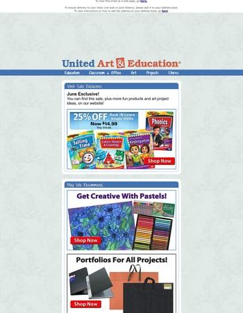 June Web Sale + Featured Items