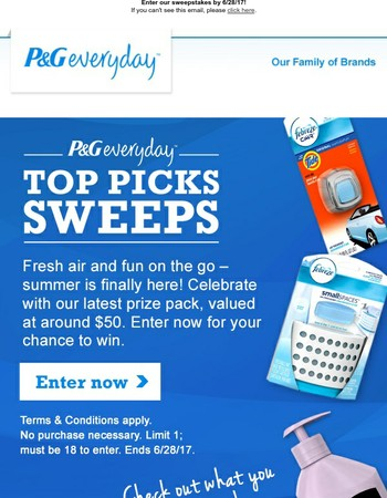 Want to win our June prize pack?