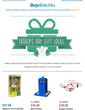 Perfect Gifts For Father's Day