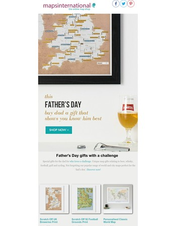 Special Father's Day gifts