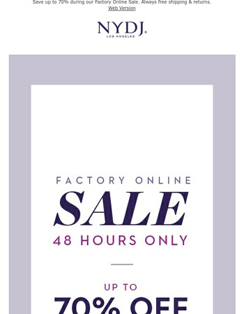 Last Day to Save up to 70%