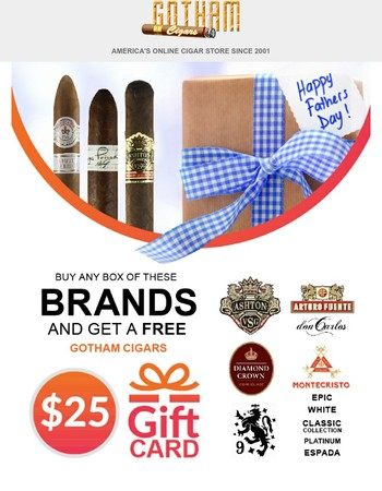 Celebrate Dad With These Great Deals!