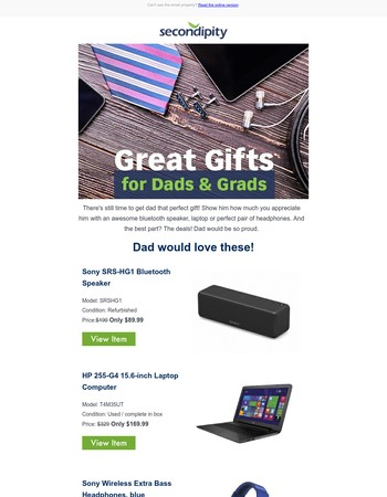 No (dad) joke, amazing deals on Father's Day gifts inside