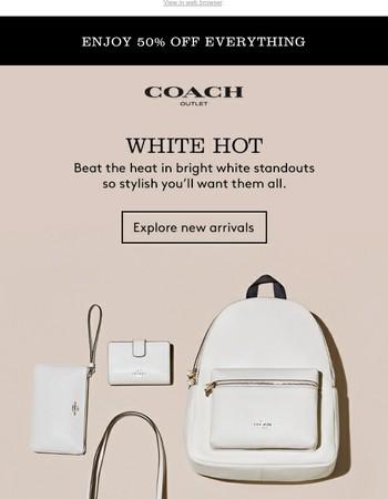 White. Hot. Style.