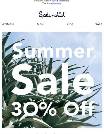 Ready, Set, Summer Sale!