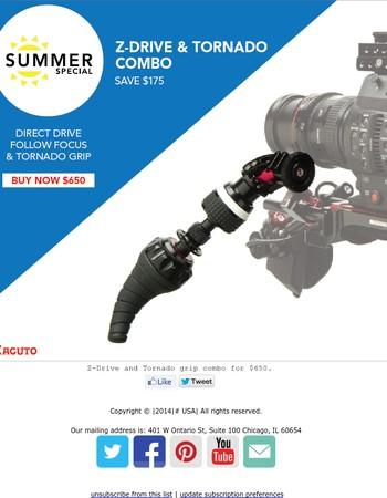 A follow focus for the modern filmmaker - Save $175