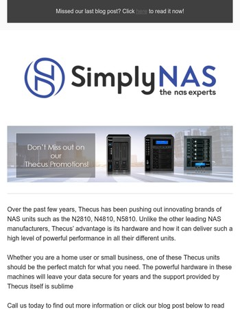 Which Thecus SMB NAS is best for your workplace?