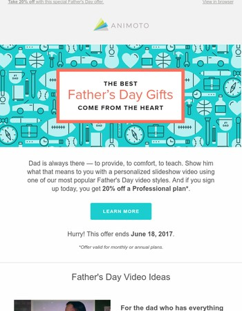 Give a Father's Day gift made with love ♡