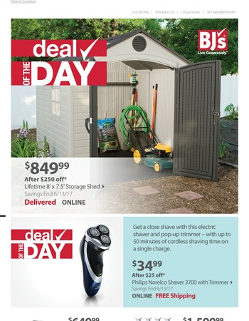 [Today Only] Huge savings await