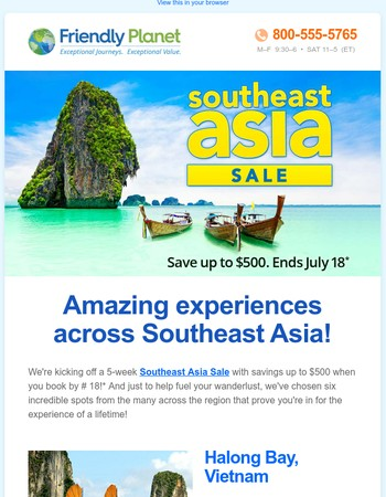 6 Things you HAVE to see in Southeast Asia