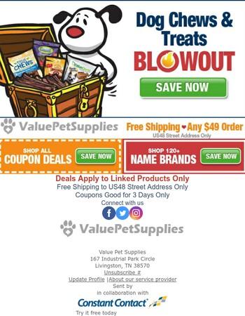 Chews & Treats - Doggie Deals