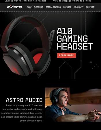 Astro Gaming Newsletter