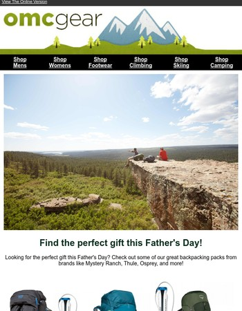 Great Deals for Fathers Day!