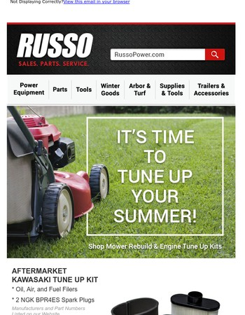 Tune Up Your Summer with Russo!