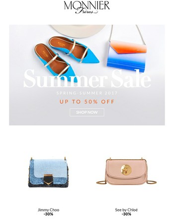Our Summer Sale Starts Now! Up to 50% Off