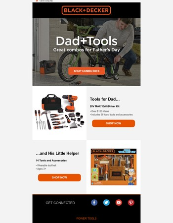 Toys for Dad [and the kids]
