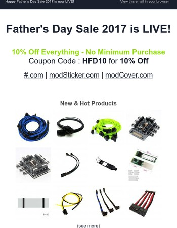 HappyFather's Day Sale 2017
