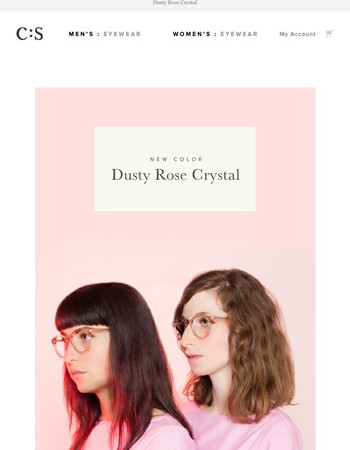 Featured Color: Dusty Rose Crystal