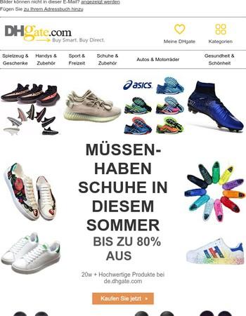 Müssen-Haben Schuhe in diesem Sommer,Bis zu 80% AUS