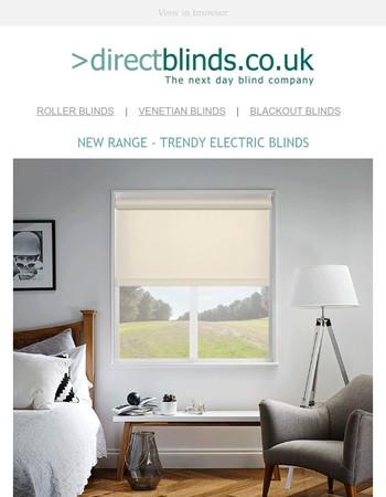 ⚡ Roller blinds have gone electric ⚡