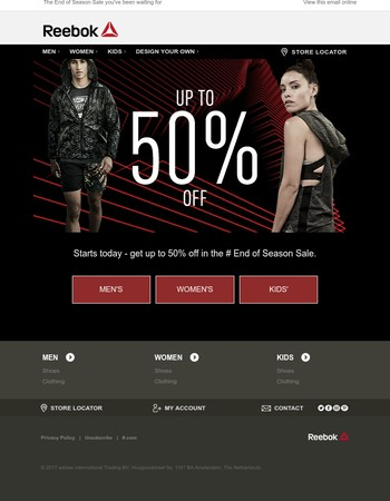 SALE: Up to 50% off starts NOW