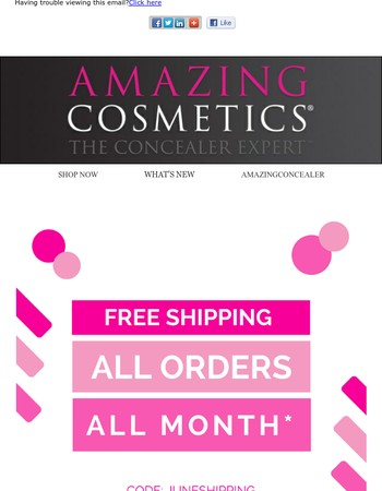 Drop Everything! Free Shipping on ALL Orders!
