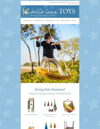 ☀️   Swing Into Summer!