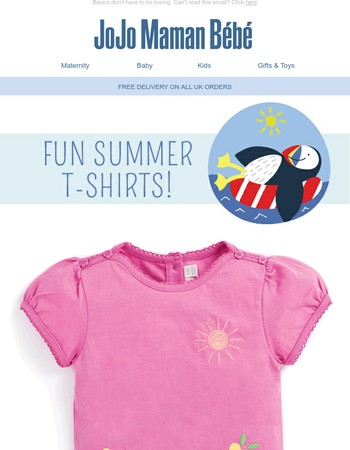 Fun t-shirts for summer!