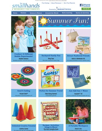 Science, Art, Movement & More! Summer Fun Activities
