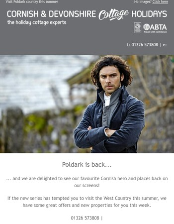 Spring into Summer in Poldark's Country...