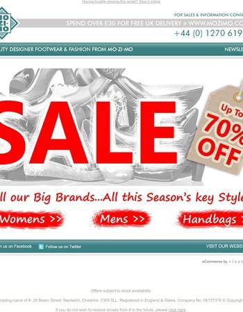 ☼ SUMMER SALE - Up To 70% OFF! | Big Brands, Big Savings ☼