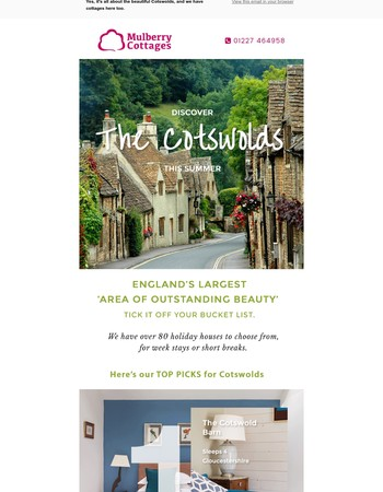 Adventure in the Cotswolds?