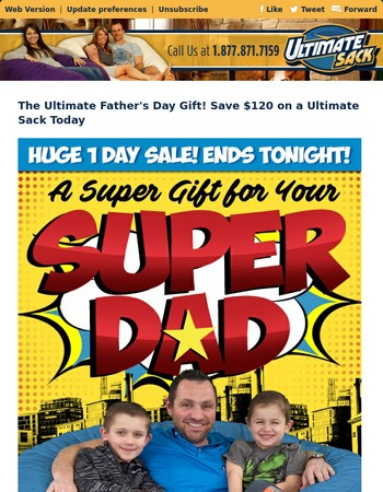 Save on the Ultimate Father's Day Gift