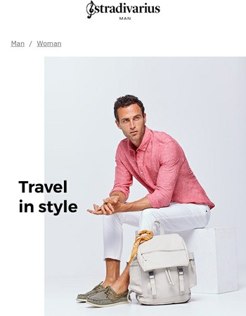 The stylish Summer travel outfit