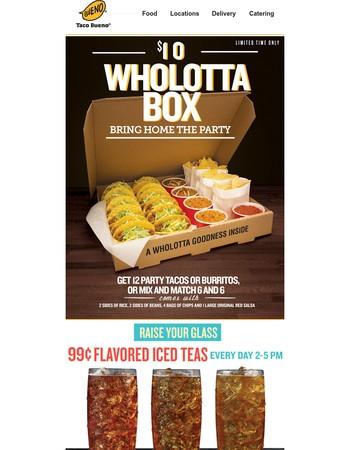 The $10 Wholotta Box will make Dad's day...
