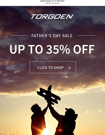 Final Day - Up to 35% Off!