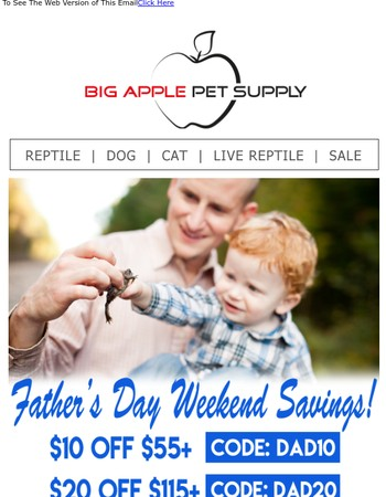 Show Dad Some Love with Great Deals!