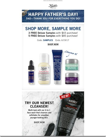 Shop More, Sample More